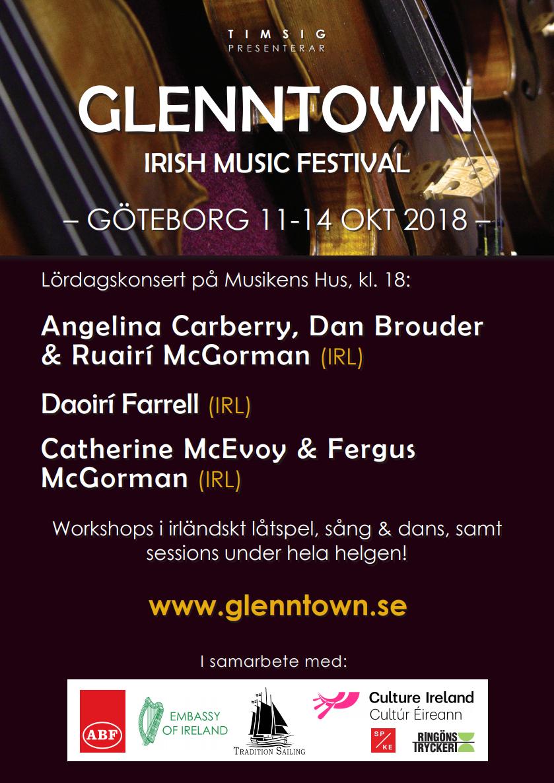 Glenntown 2018 Poster