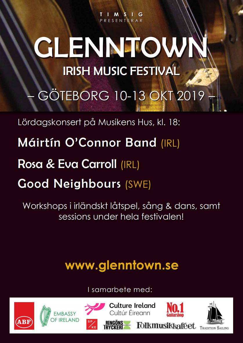 Glenntown 2019 Poster